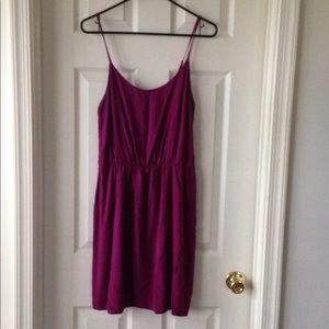 Plum Sleeveless Cami Dress